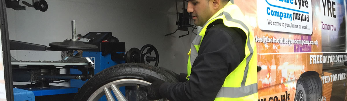 A busy tyre fitting servivce in Yorkshire